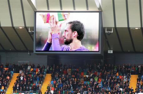 Atalanta-Fiorentina, tanta emozione nel ricordo di Astori. Ilicic in lacrime