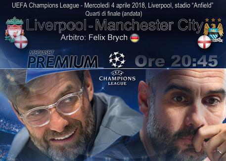 Champions League: il Liverpool schianta il City, 3-0 ad Anfield