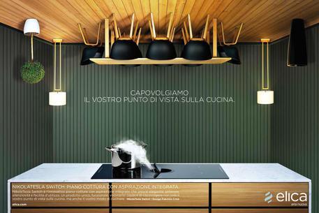 Campagna \'Upside Down\' per Elica (cappe) - Marche - ANSA.it