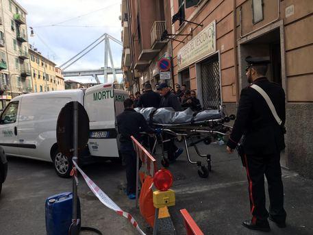 Donna uccisa a Genova © ANSA