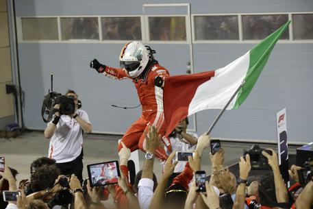 Gp Bahrain, Vettel concede il bis