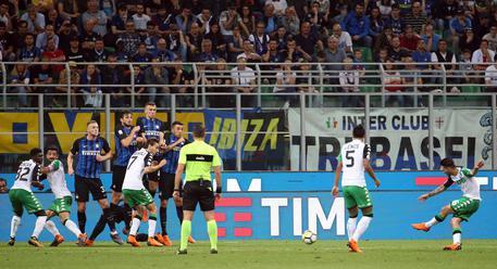Soccer: Serie A; Inter-Sassuolo © ANSA