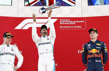 Gp Spagna, Hamilton vince ancora. Vettel solo quarto$