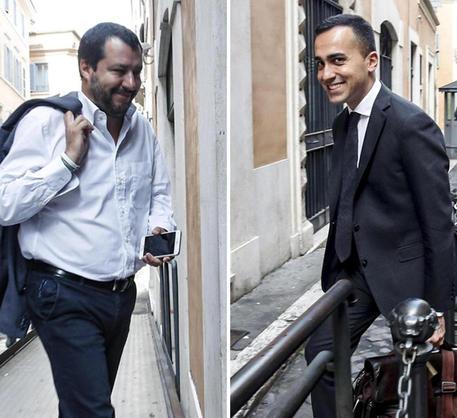 Matteo Salvini e Luigi Di Maio © ANSA