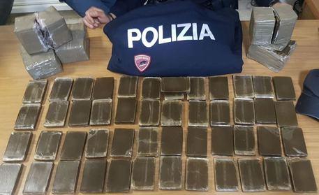 Palermo, arrestato con dieci chili di hashish$