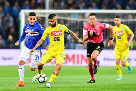 Soccer Serie A Sampdoria Napoli