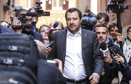 Matteo Salvini in una recente immagine © ANSA