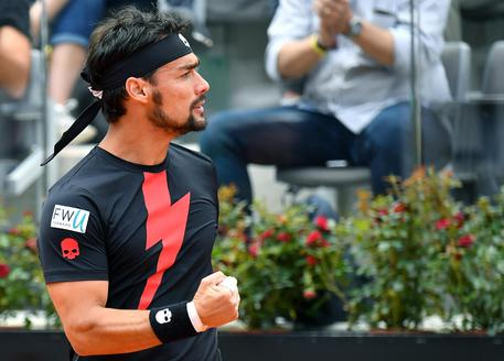 Open Bnl: Fognini fa l'impresa, eliminato l'austriaco Thiem