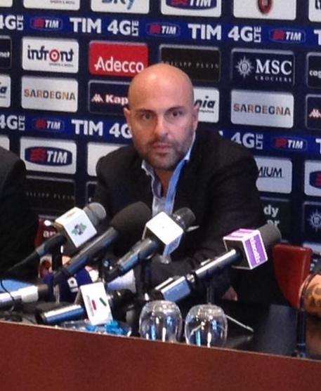Il presidente del Cagliari Tommaso Giulini © ANSA