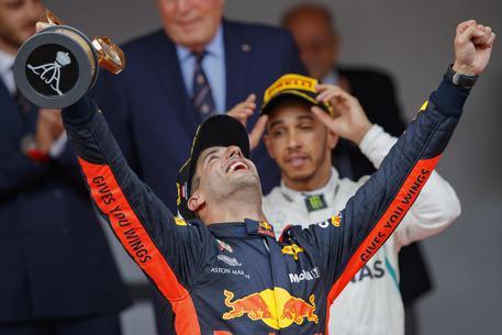 Gp Monaco, vince Ricciardo, Vettel secondo