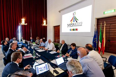 Universiade meeting (foto: ANSA)