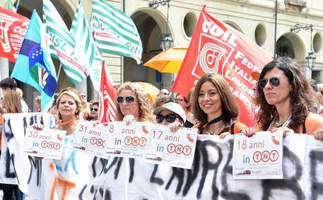 TORINO. Fedex Tnt: nuova protesta dei lavoratori, domani un corteo