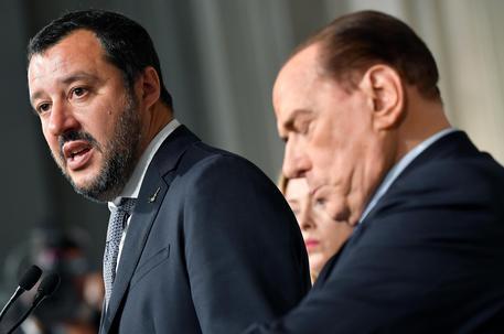 Matteo Salvini e Silvio Berlusconi (archivio) © ANSA