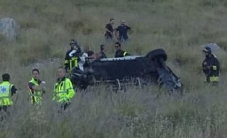 Auto precipita dal Montepellegrino, due morti