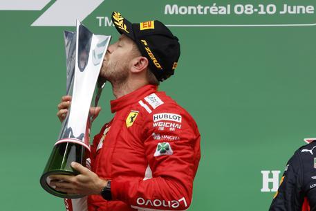 Gp Canada, Vettel torna alla vittoria e si riprende la testa del mondiale