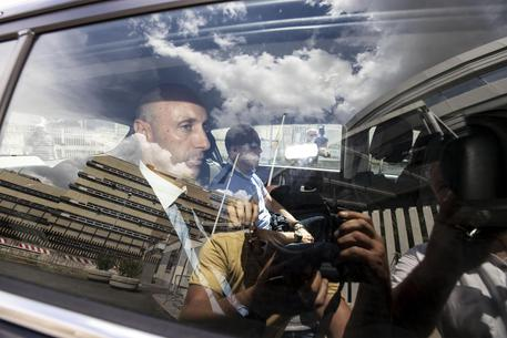 Luca Lanzalone arriva in Procura, Roma, 15 giugno 2018 © ANSA