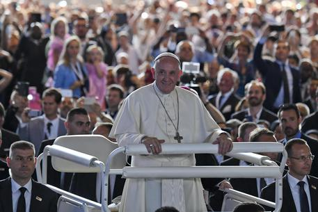 Il Papa in visita a Ginevra © ANSA