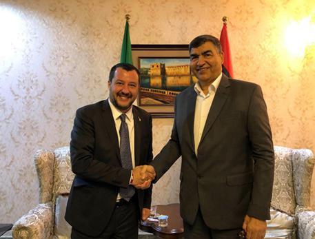 Salvini proposes south Libya hotspots - English - ANSA it