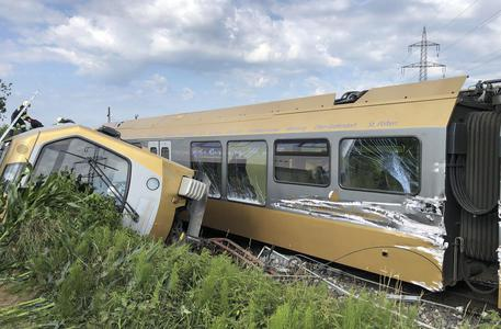 Austria, incidente ferroviario: