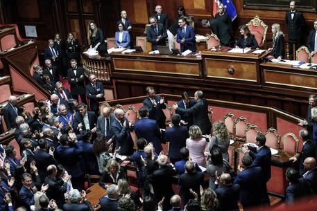 Governo: Conte ottiene fiducia Senato © ANSA