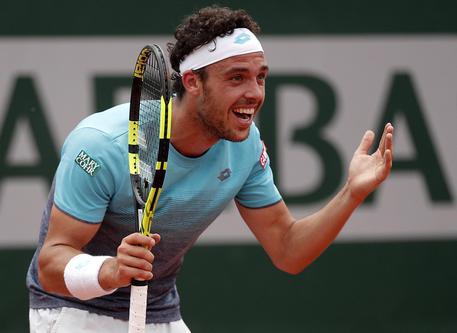 Impresa Cecchinato, batte Goffin e vola ai quarti del Roland Garros