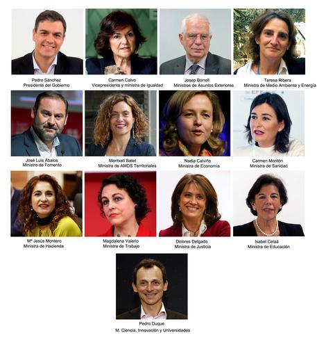 Spagna, il governo