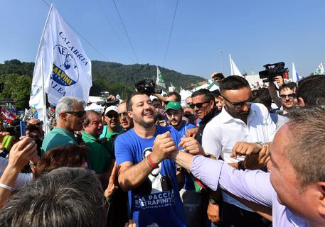 Lega: Pontida al via, Salvini: 'Europee referendum tra noi ed elite Ue'