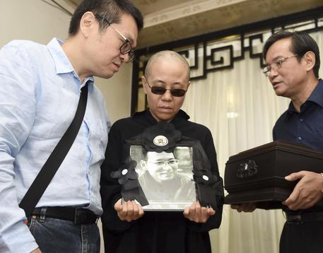 Cina. Liu Xia ha finalmente lasciato il paese