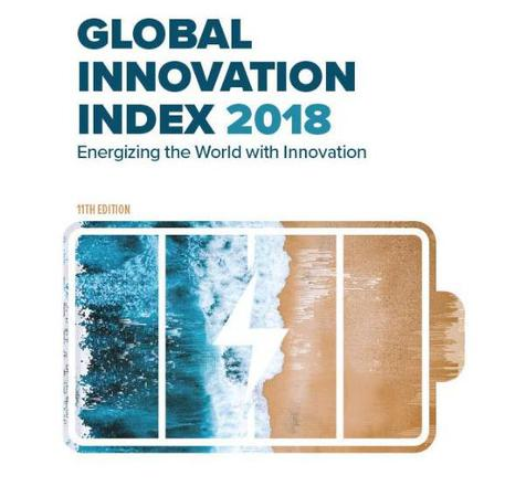 La copertina del rapporto Global Innovation Index 2018 (fonte: GII 2018) © Ansa
