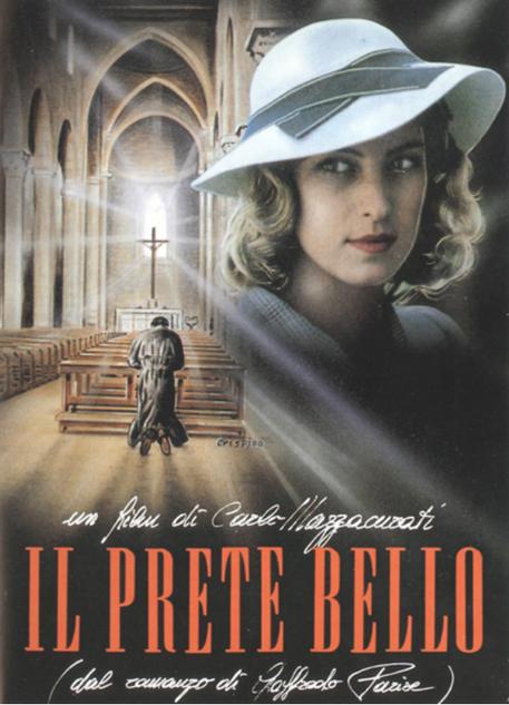 La locandina del film di Carlo Mazzacurati 'Il prete bello' © Ansa