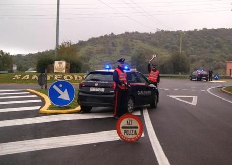 Carabinieri a San Teodoro © ANSA