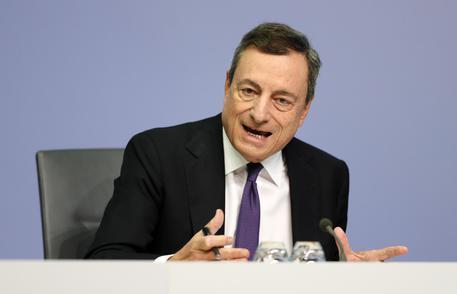 Draghi: parole governo Italia hanno fatto danni © ANSA
