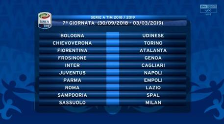 Serie A Calendario 7 Giornata.Bologna Udinese Alle 12 30 Sport Ansa It
