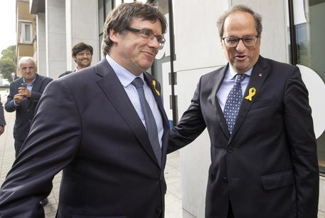 Spagna, Puigdemont torna in Belgio:
