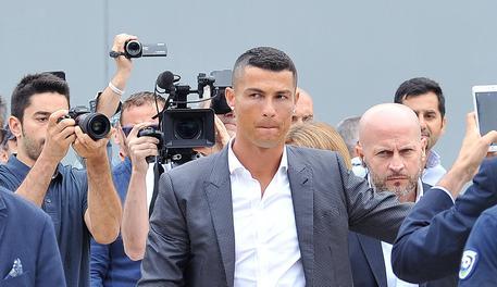 Cristiano Ronaldo: casa a Torino e allenamento alla Continassa