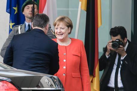 Prime Minister of Hungary Viktor Orban visits Berlin