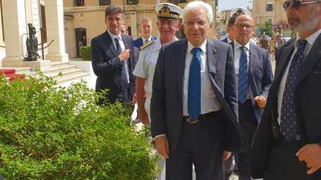 Mattarella in vacanza alla Maddalena