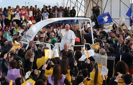Roma, Papa Francesco incontra i giovani al Circo Massimo