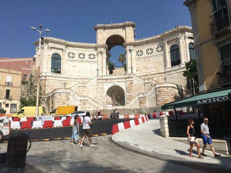Cagliari, Terrapieno chiuso al traffico