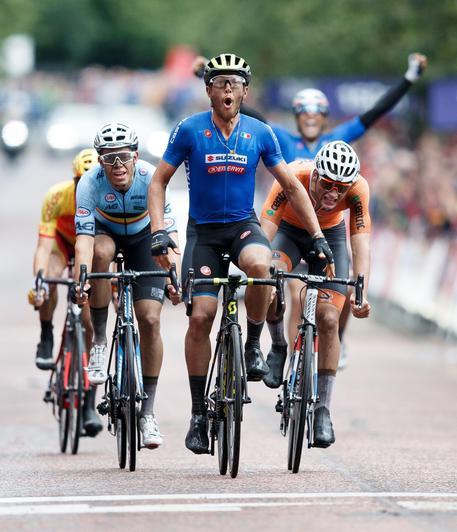 Ciclismo Europei Glasgow 2018, Matteo Trentin:
