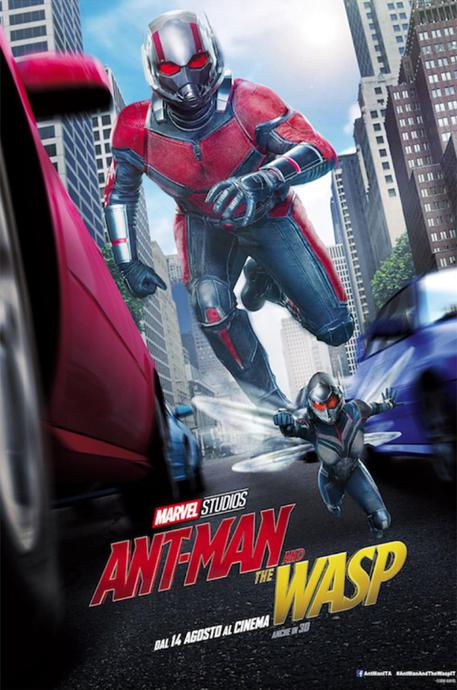 Ant-Man and the Wasp (locandina) © ANSA