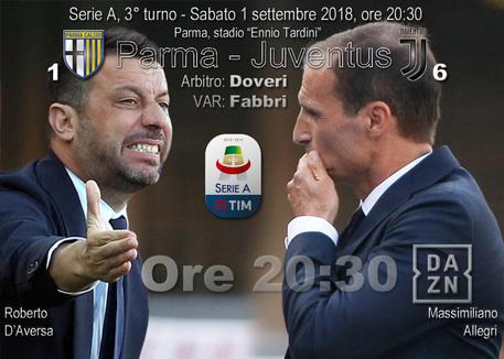 Juventus - Serie A - 1 settembre 2018