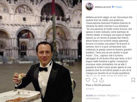 Post di Stefano Accorsi su Instagram © ANSA