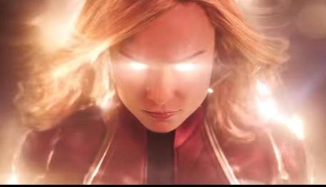 Captain Marvel, frame dal trailer © Ansa