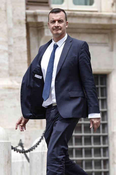 Il portavoce di Conte, Rocco Casalino © ANSA
