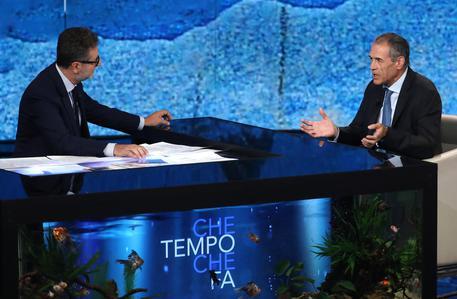 Matteo Salvini critica Che Tempo che Fa e Fazio
