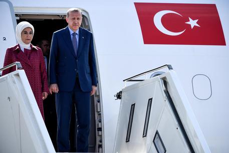 Erdogan a Berlino, città blindata