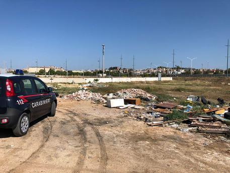 Cagliari, scoperta discarica abusiva