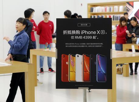 Apple taglia prezzi degli iPhone XR in Cina © ANSA