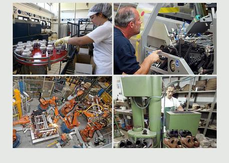 Produzione industriale © ANSA